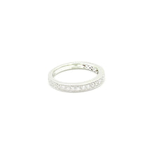 Load image into Gallery viewer, 14k White Gold Princess Cut Channel Set Band
