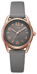 Drive Ladies Black/Pink Gold-Tone - Citizen Eco Drive