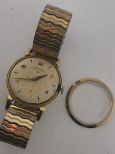 Mens Vintage Lord Elgin Watch 21 Jewels