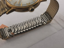 Load image into Gallery viewer, Mens Vintage Elgin Watch 17 Mesh/stretch Band