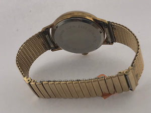 Mens Vintage Elgin Watch 17 Mesh/stretch Band