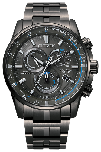 PCAT Solid Black - Citizen Eco Drive