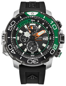 Promaster Aqualand Green Accent - Citizen Eco Drive
