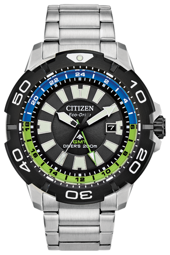 Promaster Gmt Green/Blue - Citizen Eco Drive