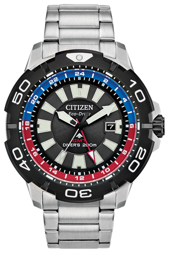 Promaster Gmt Blue/Red - Citizen Eco Drive