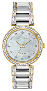 Silhouette Crystal Mother-of-Pearl - Citizen Eco Drive