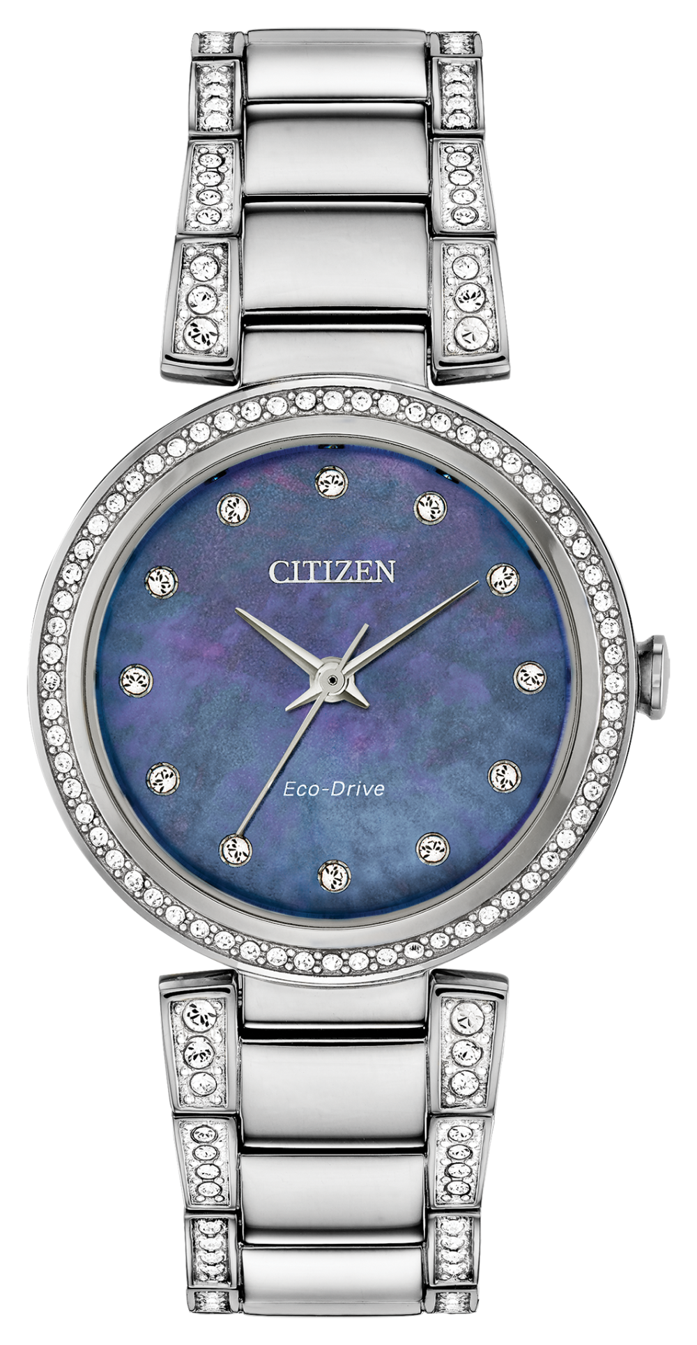 Silhouette Crystal Blue Mother-of-Pearl - Citizen Eco Drive