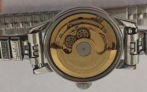 Rare Ladies Vintage Turtle Dou-matic Zelbros Watch
