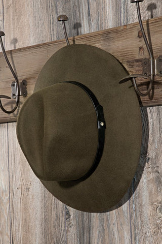 Straight Brim Panama Hat - Farminista