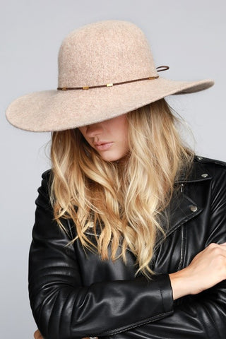 Wide Brim Floppy Hat - Farminista