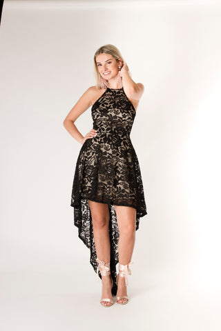 Hi-Low Lace Dress - Farminista