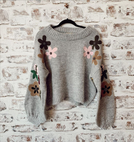 Flower Child Sweater - Farminista