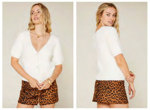Wild About You Mini Skirt