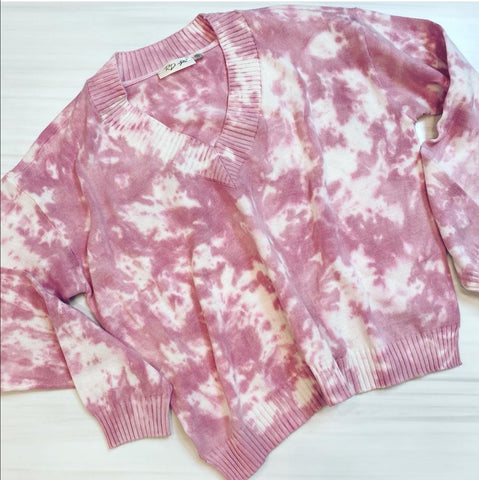 Tie Dye Pull Over - Farminista