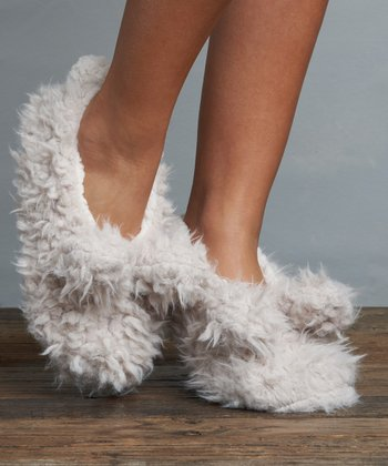 Shaggy Bunny Slipper - Farminista