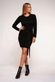 Crew Neck Sweater Dress - Farminista