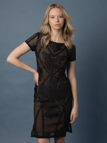 Dusty Lace Dress - Farminista