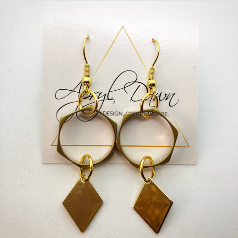 Hexagon Earring - Farminista
