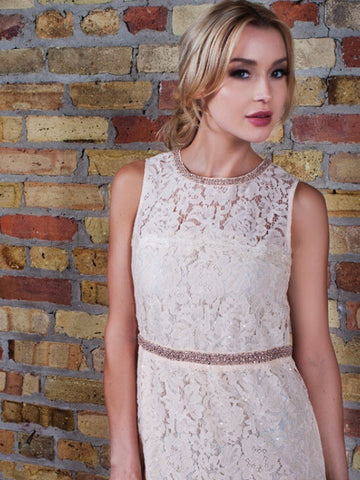 Beaded Lace Dress - Farminista