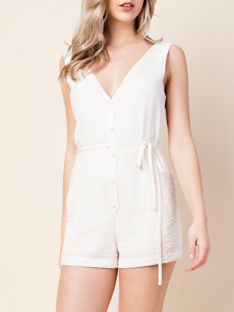 Button-up Romper - Farminista