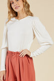 Cora Puff Sleeve Top