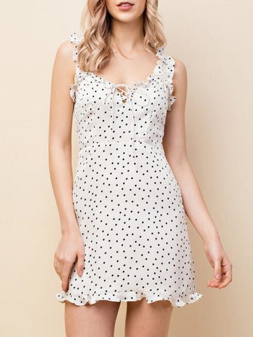 Polka Dot Dress - Farminista