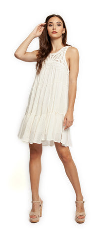 Crochet Fringe Dress Dex - Farminista