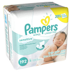 Toallitas Húmedas Pampers Sensitive | Toallitas | Pampers - Bebe2go.com