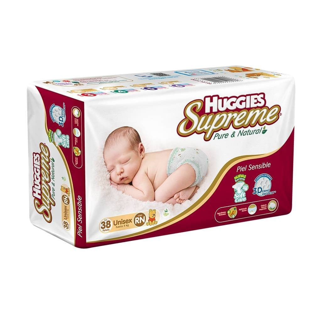 Huggies Supreme Pure And Natural Reci N Nacido Bebe2go Com # Muebles Huggies