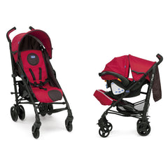 Travel System Lite Way Plus con Keyfit Fire Chicco-Rojo | Travel System | Chicco - Bebe2go.com