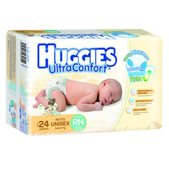 Huggies Ultraconfort RN Paq. 24 | Pañales | Huggies Ultraconfort - Bebe2go.com