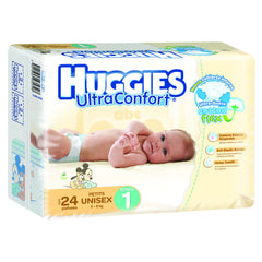Huggies Ultraconfort E1 Paq. 20 | Pañales | Huggies Ultraconfort - Bebe2go.com