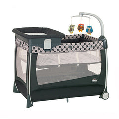 Cuna de Viaje Lullaby Magic Playard Chicco- Gris - bebe2go.com  - 1