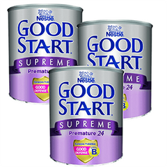 3 Latas Fórmula Infantil Especializada Good Start Supreme Prematuro 400g | Formula | Good Start - Bebe2go.com