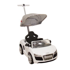 Montable Push Car Audi Blanco
