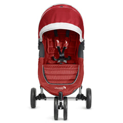 Carriola City Mini Rojo con Gris | Carriolas Sencillas | Baby Jogger - Bebe2go.com