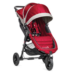 Carriola City Mini GT Rojo con Gris | Carriolas Sencillas | Baby Jogger - Bebe2go.com