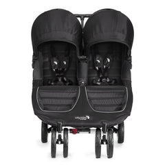 Carriola City Mini Double Negro con Gris | Carriolas Dobles y Gemelares | Baby Jogger - Bebe2go.com