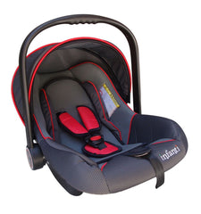 Auto Asiento Infant c/Toldo 0-9kgs (Grey/Red) - bebe2go.com