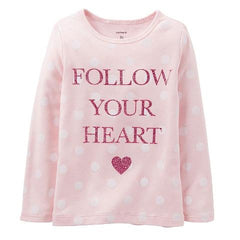 Playera para Niña Follow Your Heart - bebe2go.com
