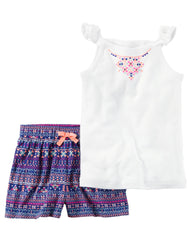 Set de 2 Pzas Carters Estampado-Multicolor