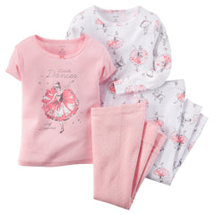 Set 4 piezas Pijama Little Dancer - bebe2go.com