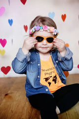 Lentes Junior Babiators - OMG! Orange 0-3años - bebe2go.com  - 2