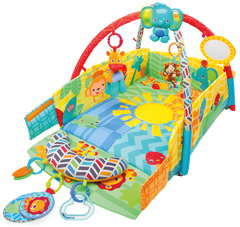 Zona de Juegos Safari | Activity Gym | Bright Starts - Bebe2go.com