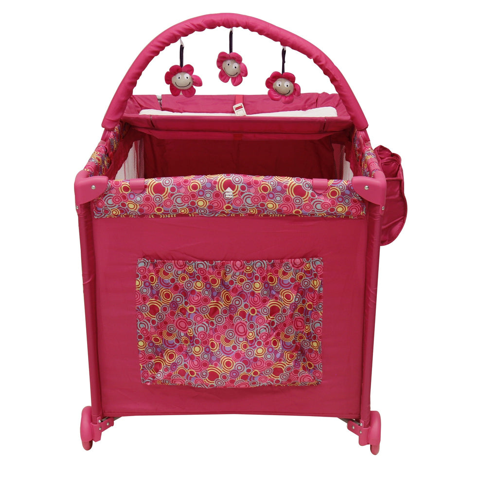 Cuna Magic Rosa - bebe2go.com  - 2