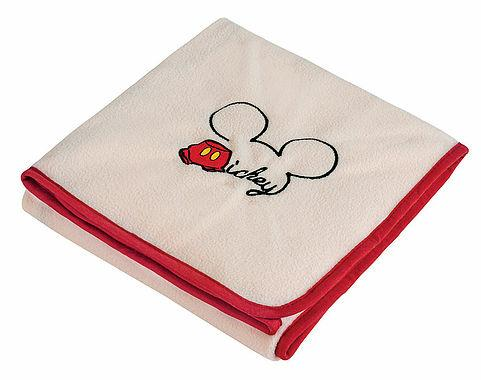 Frazada Chiqui Fleece Mickey 70 x 80 cm