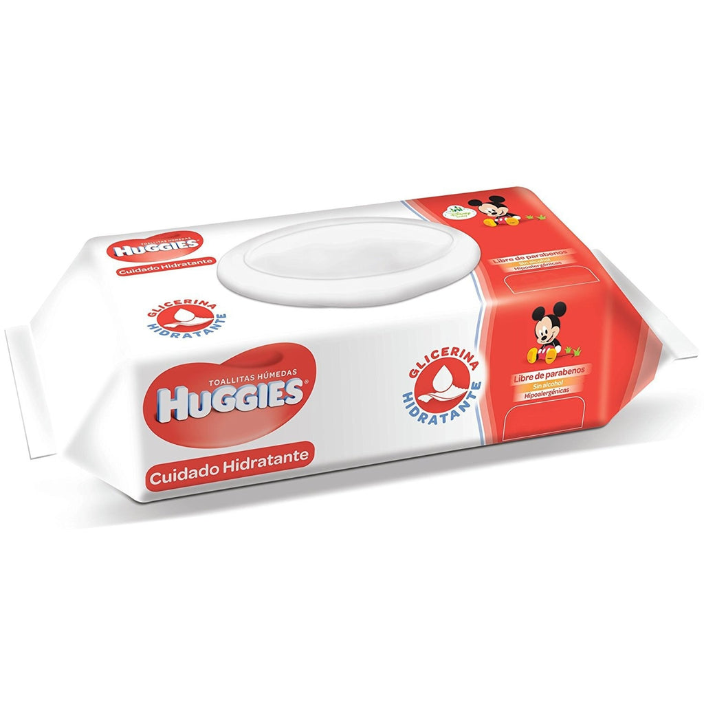 Toallitas Huggies Natural Care con Aroma (80 Pz)