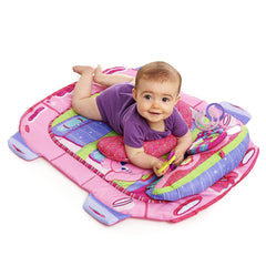 Bright Starts™ Pretty In Pink™ Tummy Cruiser™ Prop & Play Mat - bebe2go.com  - 1