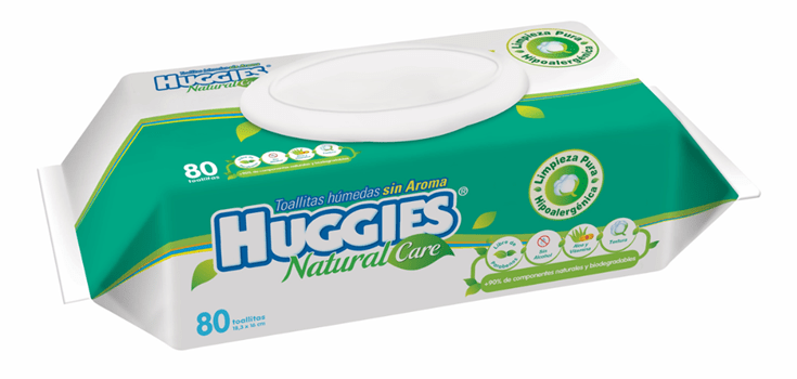 Toallitas Huggies Natural Care con Aroma (80 Pz) | Toallitas | Huggies Natural Care - Bebe2go.com