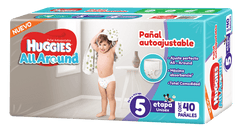 Huggies All Around E5 | Pañales | All Around - Bebe2go.com